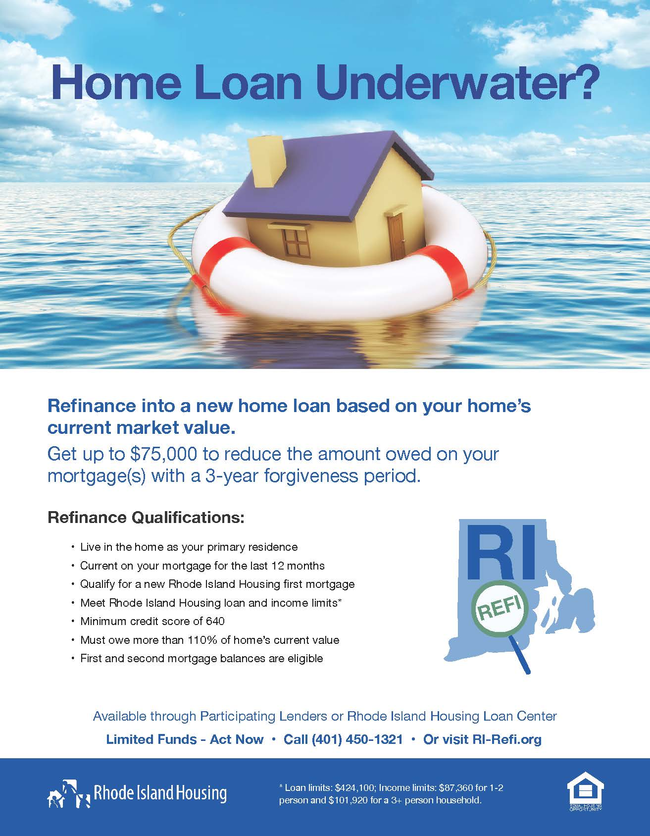 Refinance into a new home loan